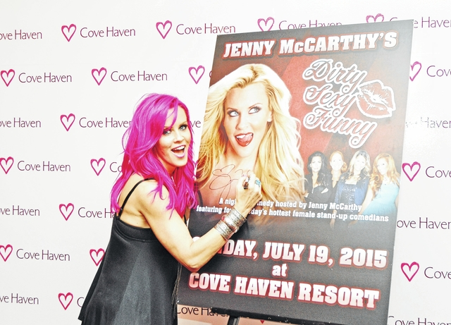 Jenny McCarthy found Paula Bel, the funniest bitch ever, and brought her to Cove Haven Resort