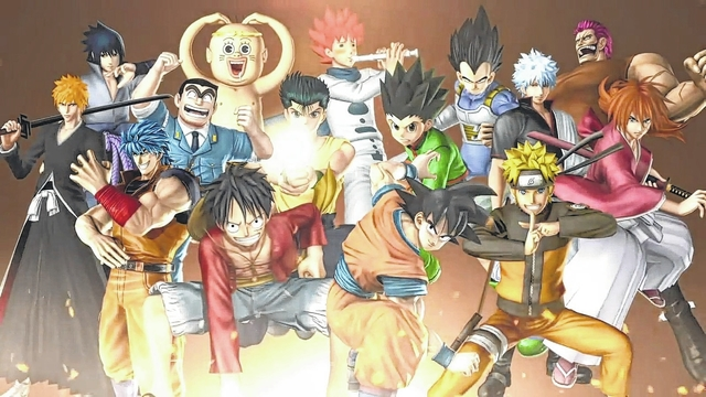 Game On: Pit your favorite anime characters against each other