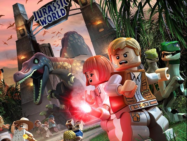 """Game On: """"Jurrasic World"""" comes to life with Lego"""