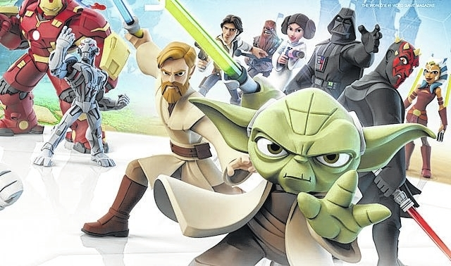 Game On: Disney Infinity 3.0 features the all-star cast of 'Star Wars'