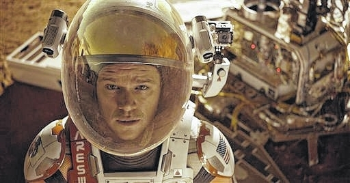 'The Martian' evokes emotions across the board including triumph and frustration
