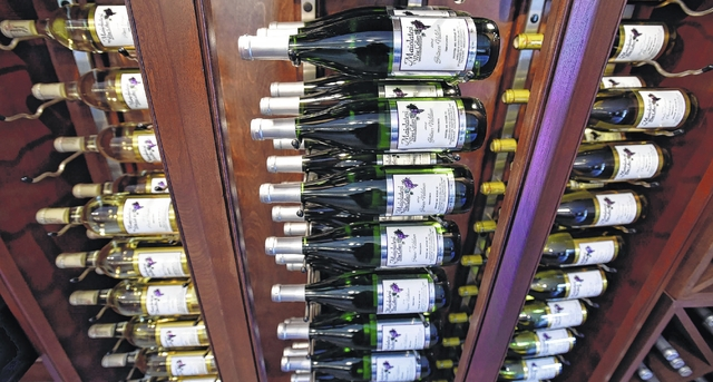 Maiolatesi Winery in Scott Twp. prides itself on using mostly Pennsvlvania fruit