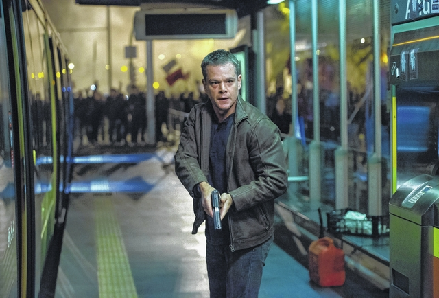 On the big screen: 'Jason Bourne' is back in action