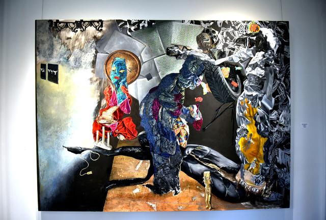 Dana Kotler displays artwork at Circle Center for the Arts in Wilkes-Barre