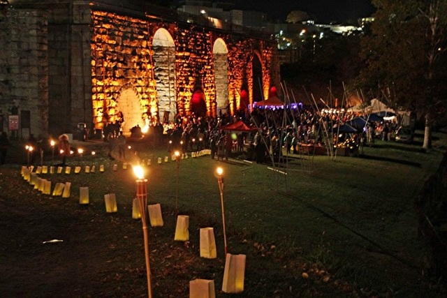 Bonfire at Iron Furnaces in Scranton expands, features German theme