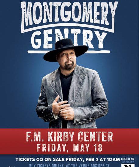 Montgomery Gentry to perform on May 18 at F.M. Kirby Center in Wilkes-Barre