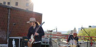 Dustin Douglas and drummer Tommy Smallcomb                                  Patrick Kernan   Times Leader