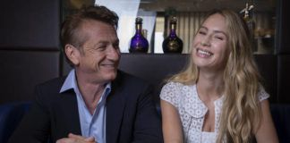 Sean Penn and Dylan Frances Penn poses for portrait photographs for the film 'Flag Day,' at the 74th international film festival, Cannes, southern France, Saturday.                                  AP photo