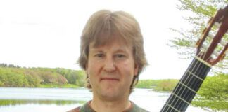Jay Steveskey will perform for a free Classical Guitar Concert at the Dietrich Theater on Sunday, Oct. 3.